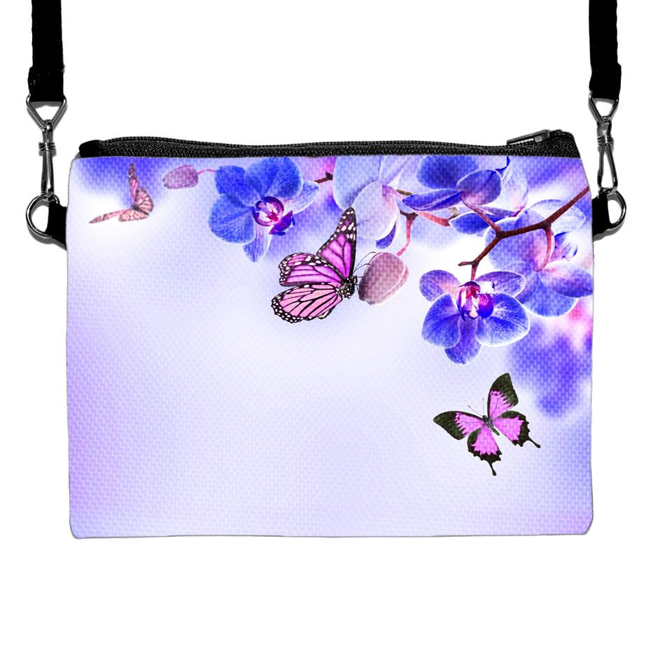 Сумка Moderika Happy Сhild фиолетовая с рисунком Бабочки (88027)