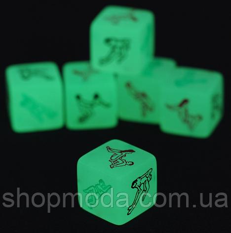Неоновый кубик с позами, фото 2