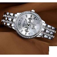 Стильные женские наручные часы Geneva Silver