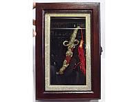 Ключница KC1 (20 Х 30 см), Сувенирная ключница, Ключница шкафчик, Ящик для ключей, Настенная ключница сейф