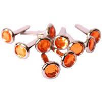 "Брадс Heyda 94883416 оранжевый 6мм, 10шт набор брадс ""Кристаллики"""