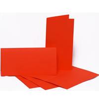 Набор заготовок для открыток Fabriano 94099029 красный 5шт, 10,5х21см, №9,220г/м2