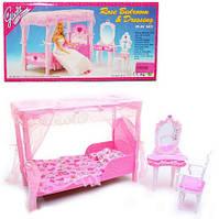Меблі Gloria для ляльок 2614 Спальня