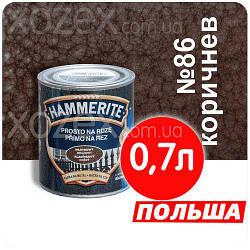 Hamerite Хамерайт 3в1 Коричневий з молотковим ефектом 0,7 лт