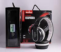 Беспроводные стерео блютуз наушники AZ-01 с микрофоном