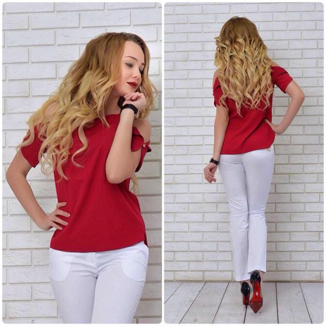 Блуза жіноча, модель 901, колір - марсала