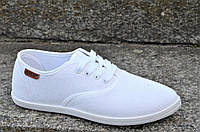 Мокасини слипоны женские модные белые не парят, легкие текстиль мягкие, удобные (Код: 1150) 36