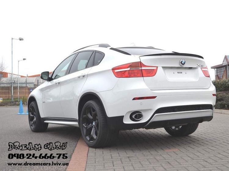 НАКЛАДКИ НА ЗАДНЕЕ СТЕКЛО BMW X6