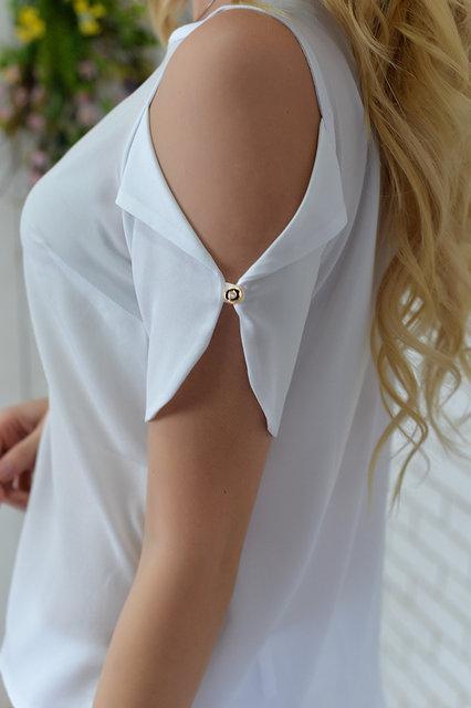 Блуза женская, модель 901,цвет - белый