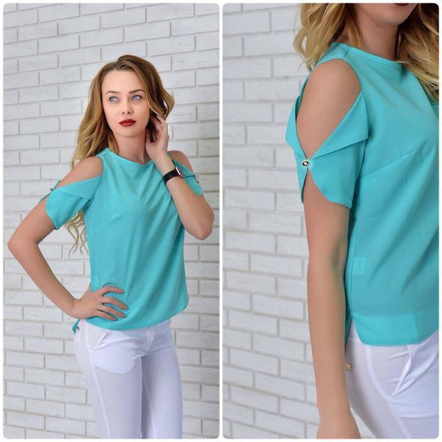 Блуза женская, модель 901, цвет - бирюзовый