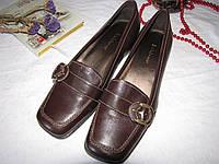 Туфли лоферы Liz Claiborne оригинал размер 38 коричневые 08104, фото 1