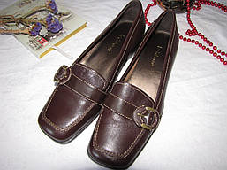 Туфли лоферы Liz Claiborne оригинал размер 38 коричневые 08104