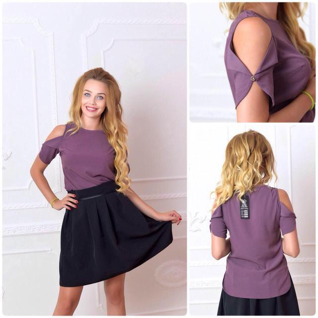 Блуза женская, модель 901, цвет - сливовый