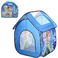 Палатка M 3096 домик, 112-102-114 см, 1  вход-застежка-молния, в сумке 38-38-5 см