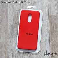 TPU чехол накладка Molan Cano Jelly Case для Xiaomi Redmi 5 Plus (красный)
