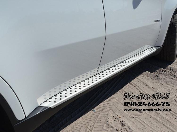 ПОРОГИ (ПОДНОЖКИ БОКОВЫЕ) BMW X6 E71/E72