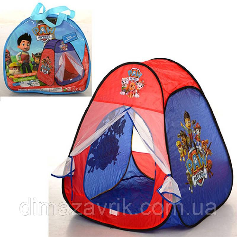 Палатка M 1429 пирамида, 80-80-90 см, 1 вход- сетка на липучке, 1 окно-сетка, в сумке 35-32-5 см