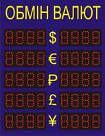 Табло обмена валют CE51-7-4
