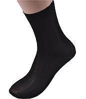 Хлопковые мужские носки в сеточку, фото 1