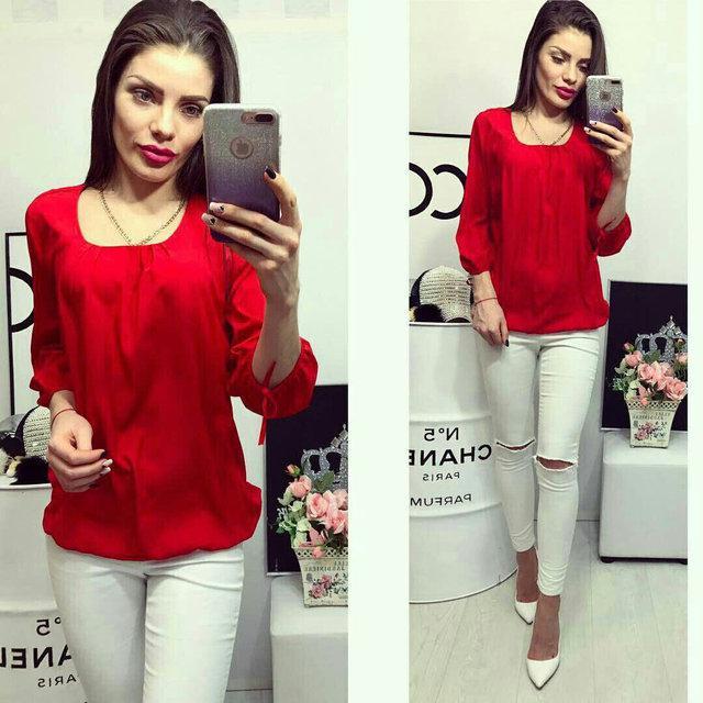 Блуза жіноча, модель 776, колір - червоний