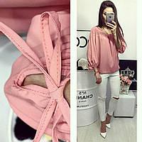 Блуза женская, модель 776, цвет - розовый, фото 1