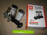 Цилиндр тормозной  главный  УАЗ   старого образца   - 2 бачка,б/ сигн.устройства  (RIDER). 469-3505010. Цена с НДС.