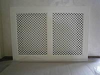 Экраны для батареи, решетки декоративные панели на радиаторы отопления. Киев, фото 1