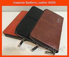 Кошелек Baellerry Leather W008 коричневый, черный