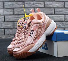 Женские кроссовки в стиле Fila Disruptor 2(II), фото 2