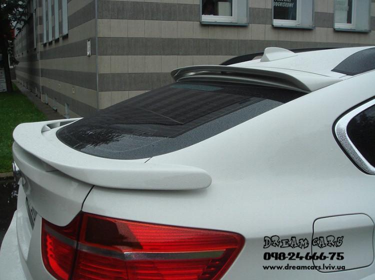СПОЙЛЕР НИЖНИЙ BMW X6 E71 HAMANN (СТЕКЛОВОЛОКНО)