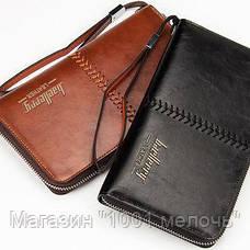 Кошелек Baellerry Leather W008 коричневый, черный!Опт, фото 3