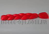 Канекалон однотонный оттенок вишневого 60см(120см)/100гр арт.А12