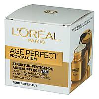 "L'Oréal Age Perfect Pro-Calcium Struktur-Festigende Aufbaupflege ""Tag"" - Укрепляющий питательный крем 60+"