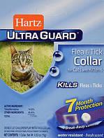 Ошейник Hartz Ultra Guard для котят от блох и клещей на 7 месяцев. Дезодорированный. Лиловый