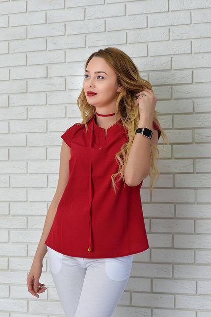 Блуза женская, модель 903, цвет - вишневый
