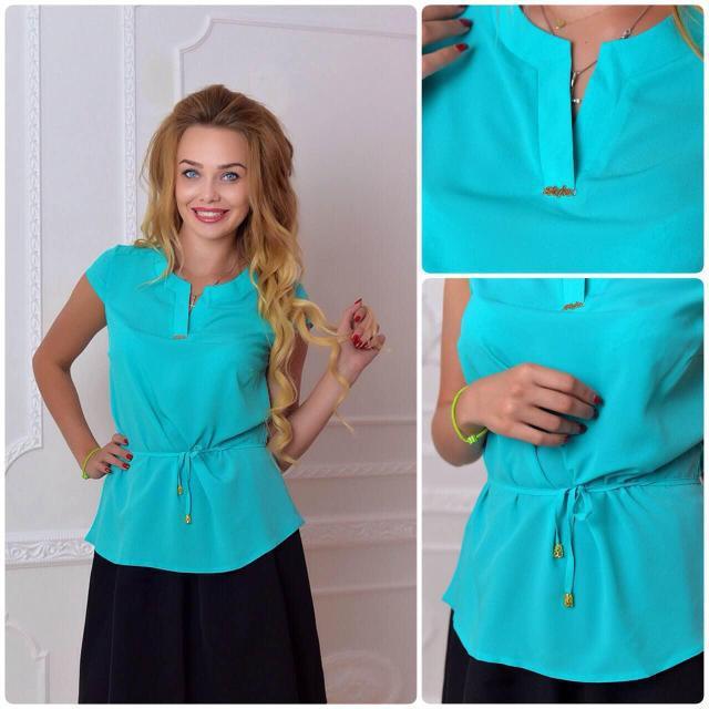 Блуза женская, модель 903, цвет - бирюзовый