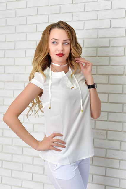 Блуза женская, модель 903, цвет - молоко