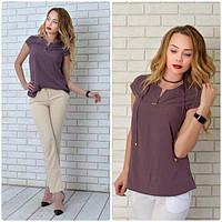 Блуза женская, модель 903, цвет - сливовый