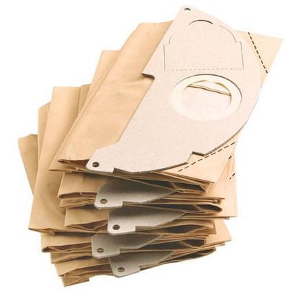 Бумажные фильтр-мешки KARCHER (5 шт.) к MV 2, фото 2