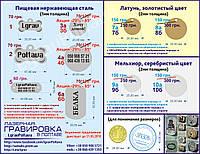 Адресник-косточка 35х20мм