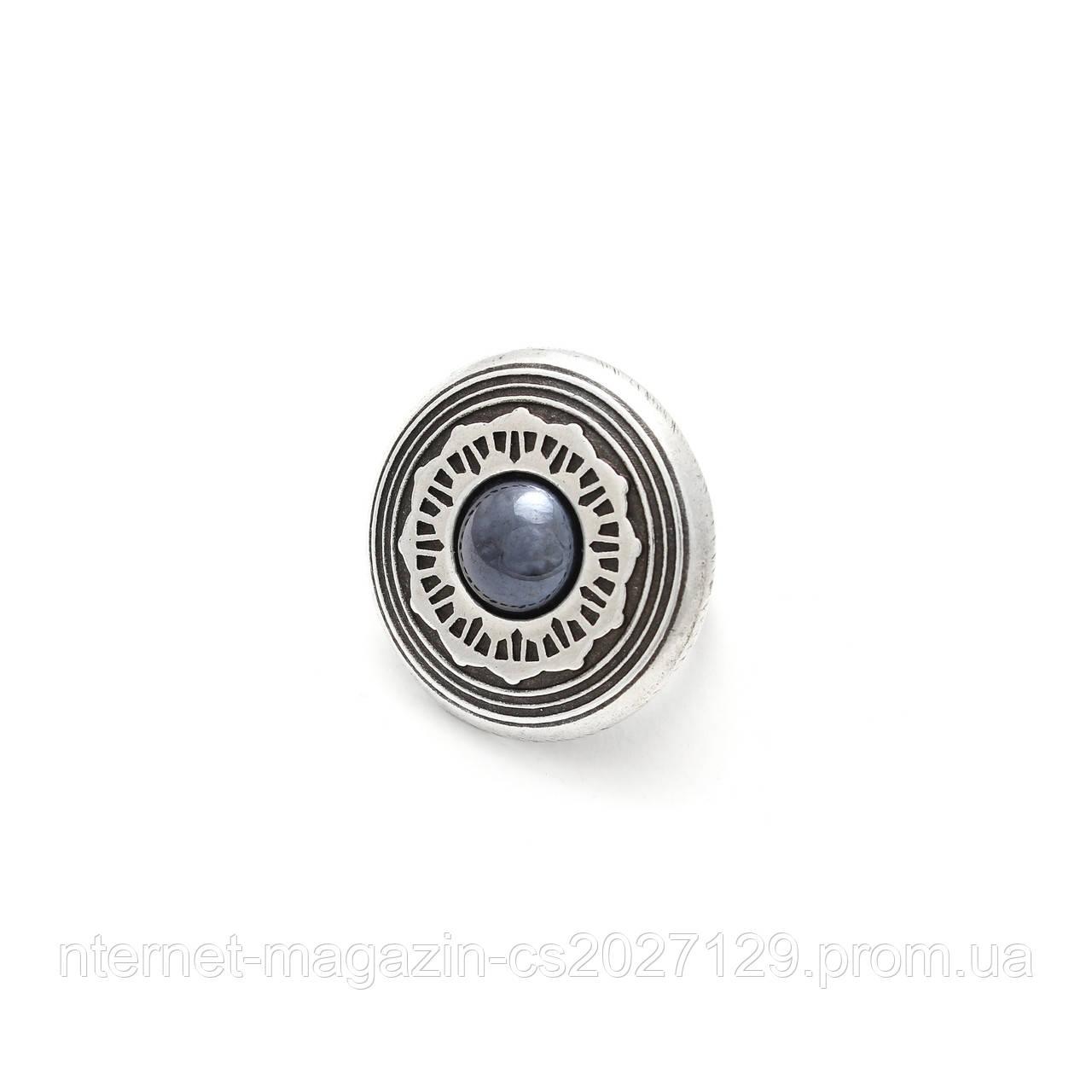 Кольцо Гердана гематит