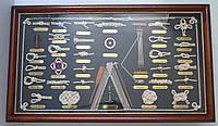 Картина морские узлы под стеклом 73 см * 43 см, Одесса