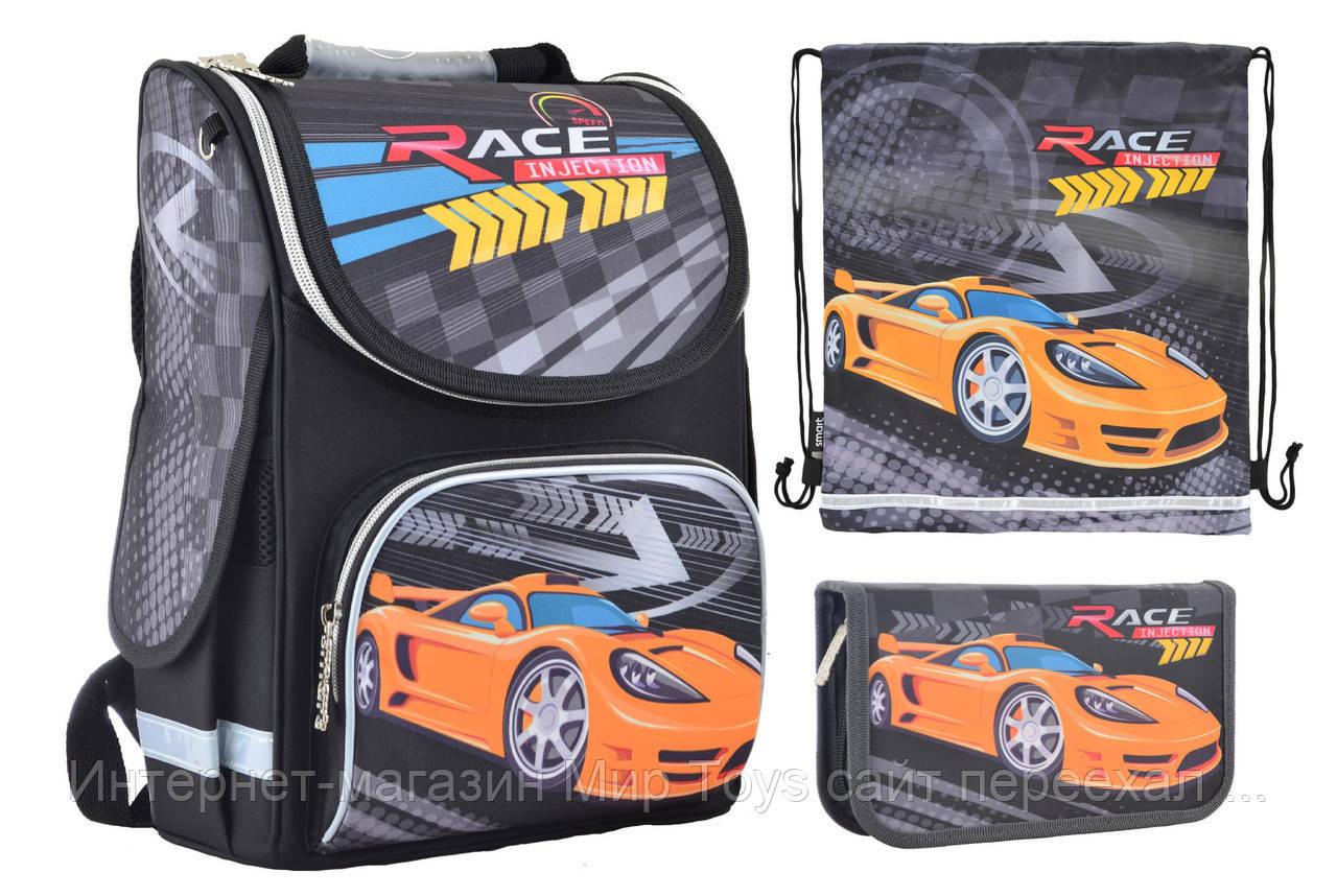 Набор 1 вересня Smart для мальчика рюкзак 554559, пенал 531742, сумка 555254