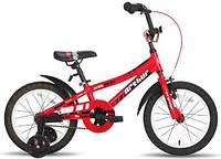 "Велосипед 16"" PRIDE ARTHUR красно-белый глянцевый 2015"
