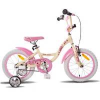 "Велосипед 16"" PRIDE ALICE бежево-розовый матовый 2015"