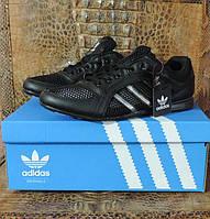 Детские летние кроссовки Adidas Originals Daroga. Натуральная кожа - сетка, реплика