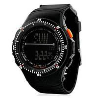 Тактические часы SKMEI CARBON BLACK