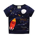 Футболка для мальчика Космическая ракета Jumping Meters