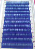 Вії сині mix З 0.10 (8-12 мм), фото 1