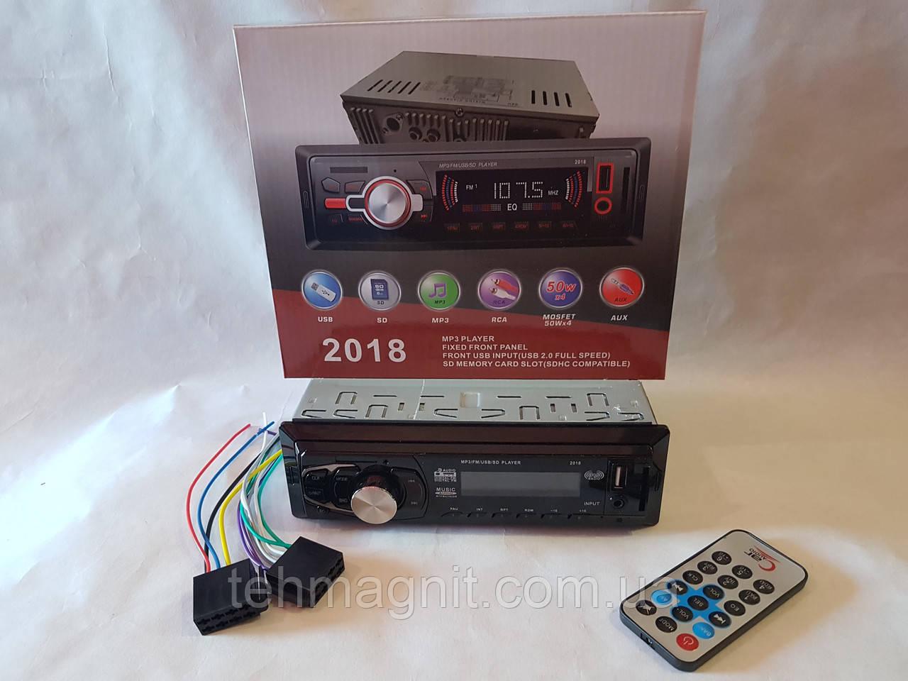 Автомагнитола Pioneer 2018 - MP3+FM+USB+SD+AUX!